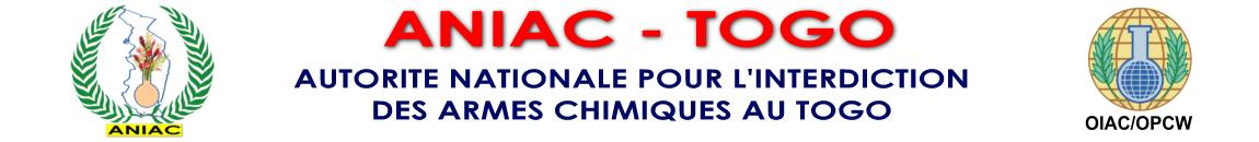 Autorité Nationale pour l'Interdiction des Armes Chimiques au Togo