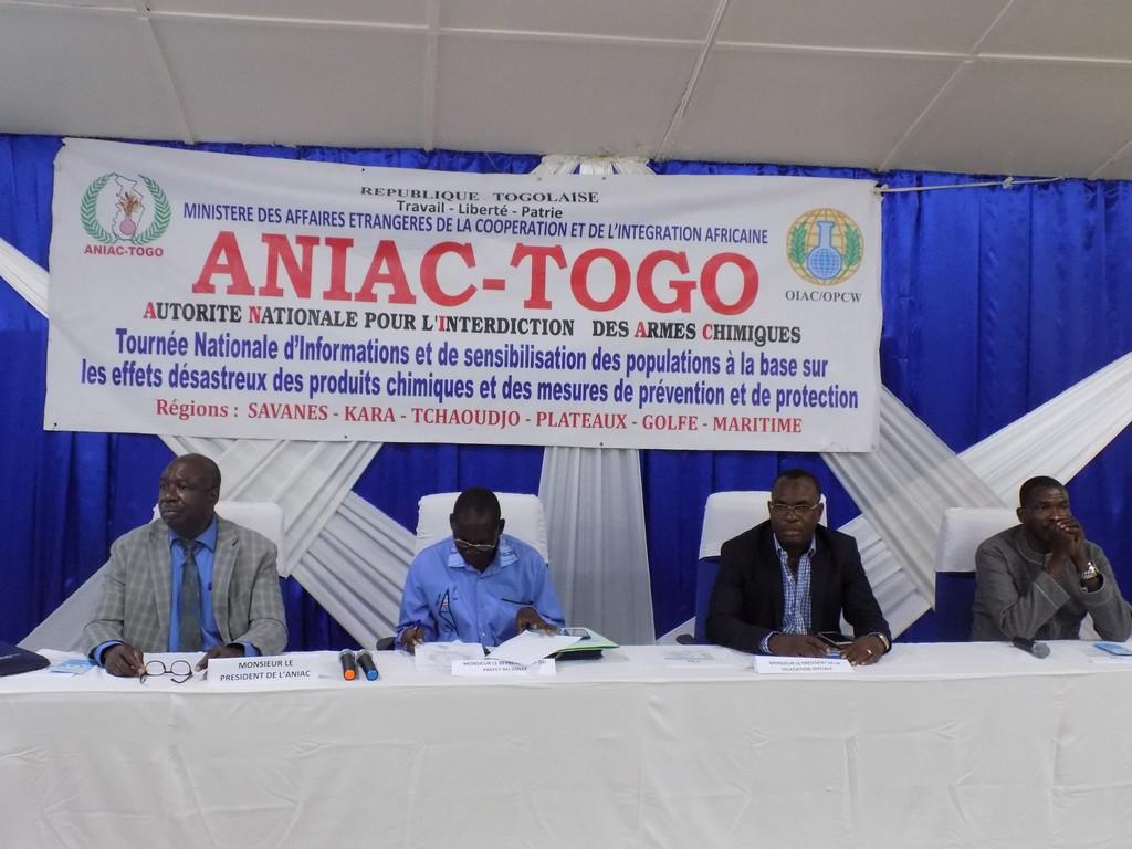 Tournée de sensibilisation à Lomé