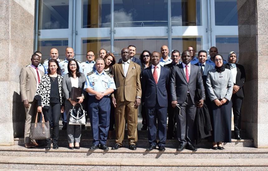 Visite à la Direction Générale de la Protection Civile (Maroc les 18 et 19 octobre 2018)