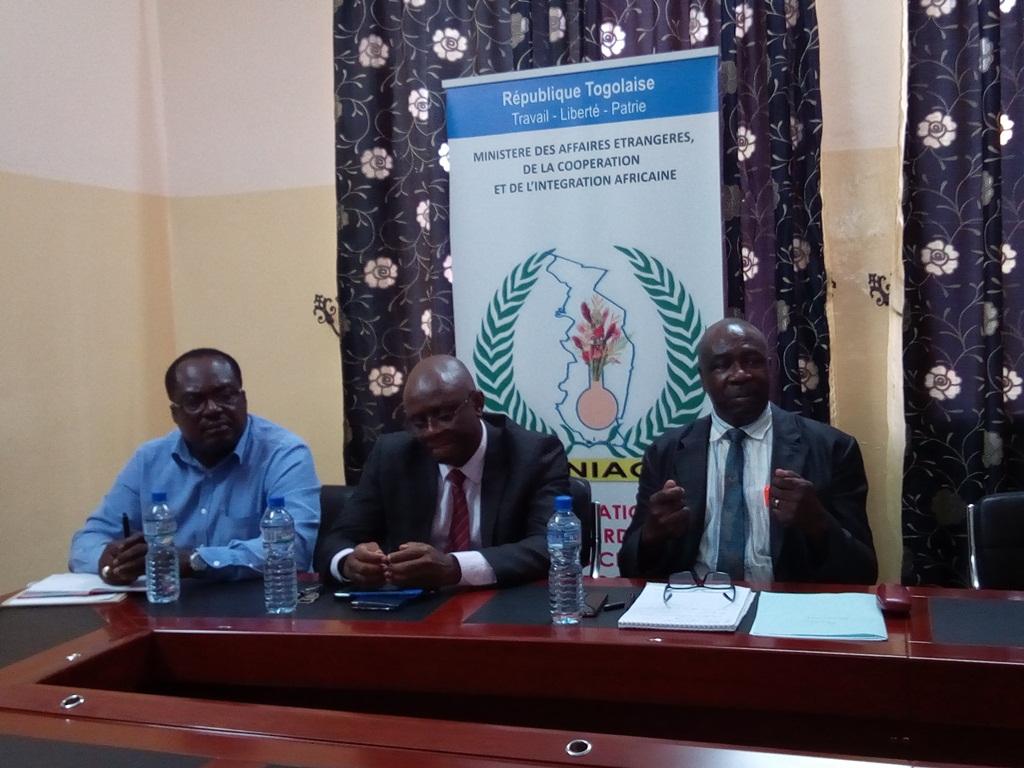 Point de Presse (Mise en oeuvre CIAC au Togo)